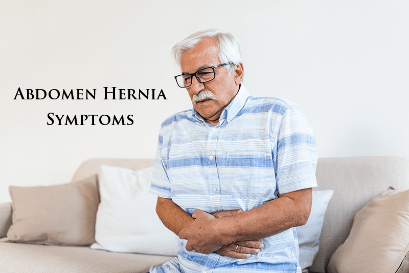Abdomen Hernia Symptoms of Wall Hernias